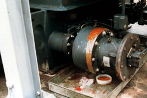 oil pumps of a 20 KVA transformer